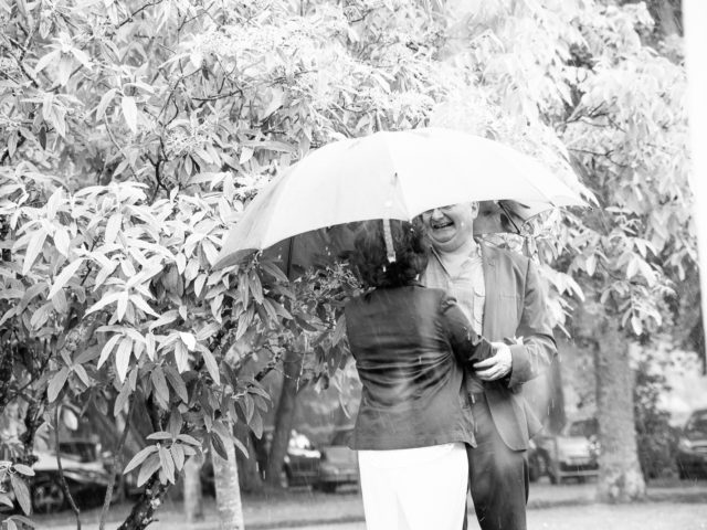 Vallet invités sous la pluie